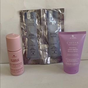CAVIAR Repairx Shampoo Conditioner Blowout Butter